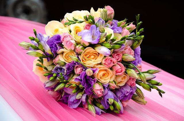 bouquet fleur tendance