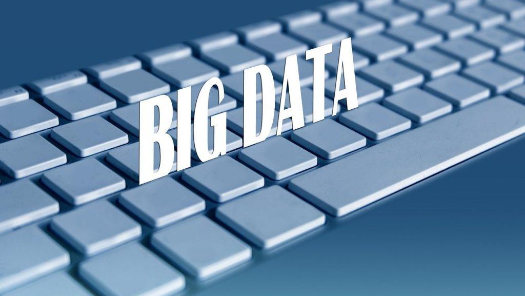 grande, données, clavier